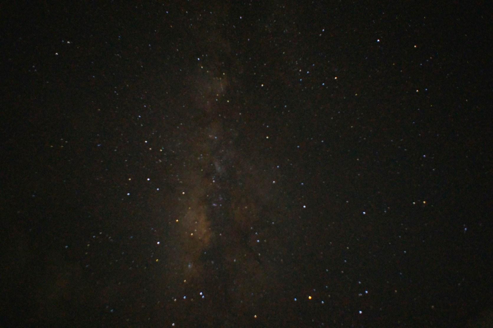 奄美の夏の夜空